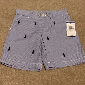 Ralph Lauren Polo 3/3T Pin Striped Shorts